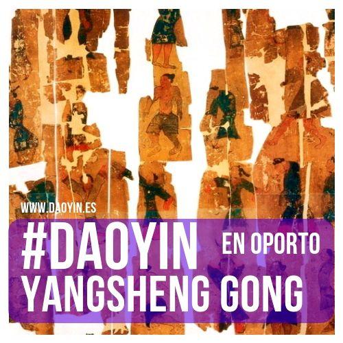 Cursos de Daoyin Yangsheng Gong en Oporto.