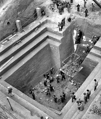 Las excavaciones arqueológicas de Mawangdui.