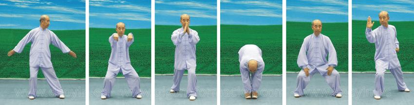 Zhang Guangde y Daoyin para el Hígado/Vesícula Biliar.
