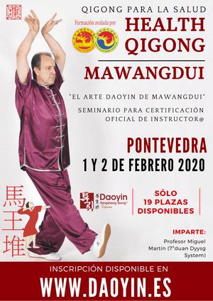 Qigong Daoyin Mawangdui formacion de instructores. Mças información en www.daoyin.es