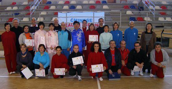2005 - Mawangdui Daoyin Shu primer curso de formación en España.