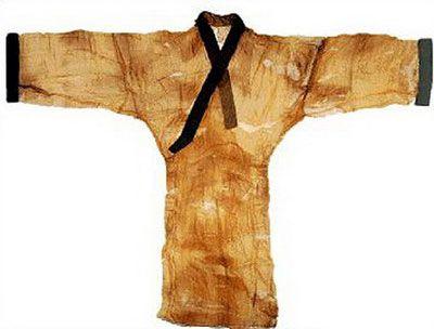 Mawangdui vestimentas encontradas