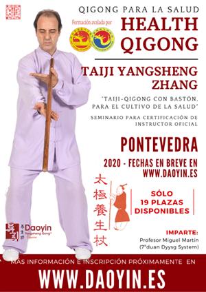 MÁS INFORMACIÓN sobre esta formación de Taiji con palo, próximamente en www.daoyin.es