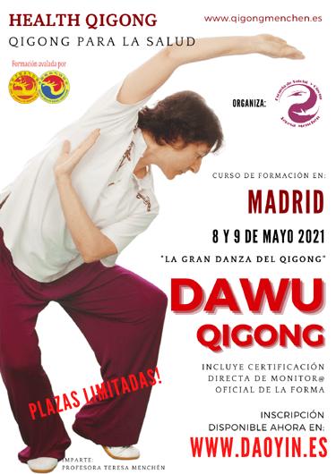 Dawu Qigong. Seminario presencial en Madrid con Teresa Menchén.
