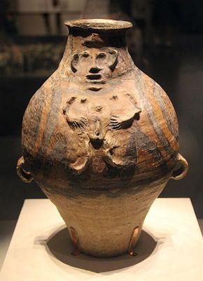 La vasija Yin Yang de ejercicios Daoyin perteneciente a la cultura Majiayao.